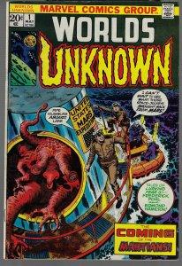 Unknown Worlds #1 (Marvel, 1973) - High Grade