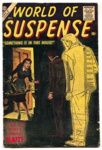 World Of Suspense #4 1956- Atlas Horror- VG