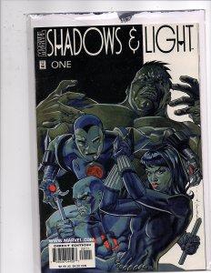 Marvel Comics (1998) Shadows & Light #1 Steve Ditko, Bernie Wrightson