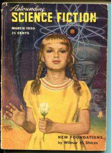 Astounding Science Fiction 3/1950-Hubert Rogers-L Ron Hubbard-G