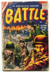 Battle #55 1957- Atlas War- Hill 202 G-