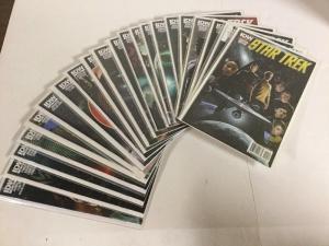 Star Trek 1-21 Lot Set Run Nm Near Mint IDW Comics New Universe