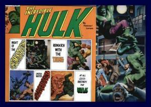 FASTNER/LARSON Hulk Portfolio Set One 1980