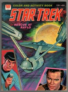 Star Trek Color and Activity Book #1261 1978-Spock-Kirk-games-puzzles-FN