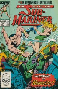 Saga of the Sub-Mariner #11 VF/NM; Marvel | save on shipping - details inside