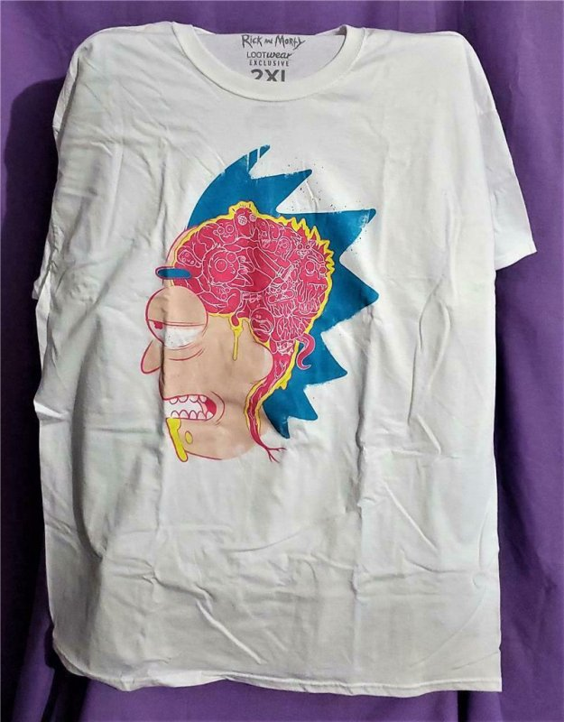 Loot Crate Exclusive RICK and MORTY T-Shirt 2XL (Loot Wear)!