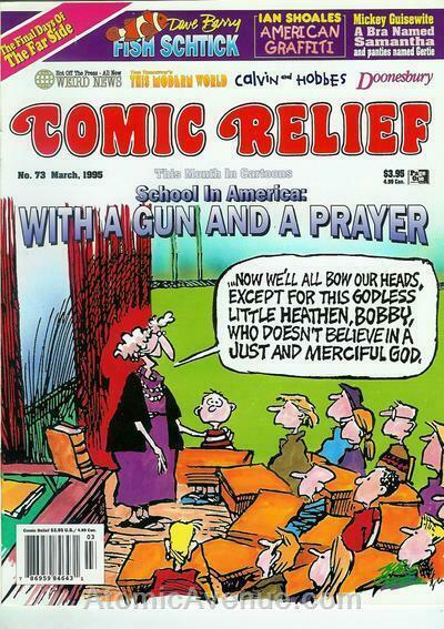 Comic Relief (magazine) #73 FN; Page One | save on shipping - details inside