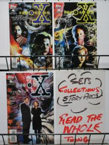 X FILES (1995 TOPPS) 4-6  FIREBIRD