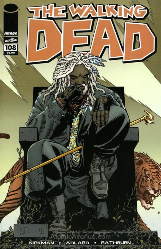 Walking Dead, The (Image) #108 VF/NM; Image | save on shipping - details inside
