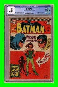 Batman #181 1966 DC Comics 1st appearance of Poison Ivy CGC 0.5