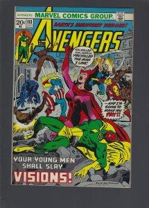 The Avengers #113 (1973)