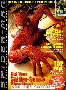 SPIDER-MAN OFFICIAL MOVIE SOUVENIR MAGAZINE (2002 Series #1 SPIDER-MAN Near Mint
