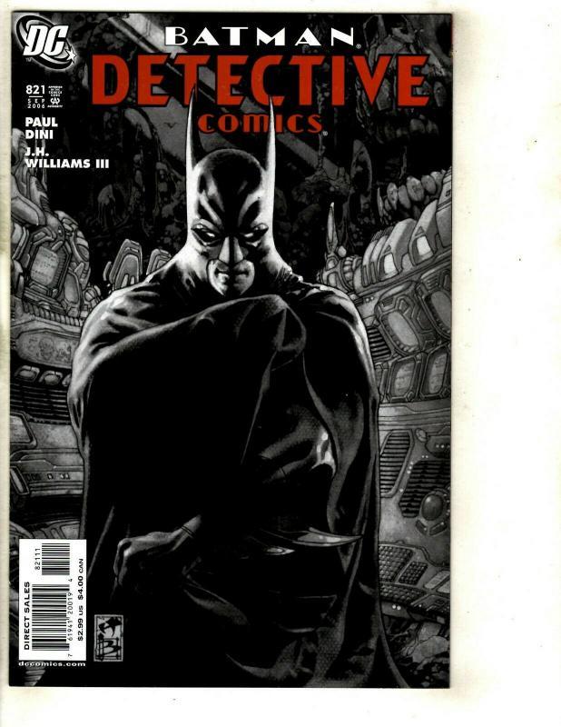 10 Batman Detective DC Comics 821 822 823 824 825 826 827 828 Batgirl 2 1 SM11