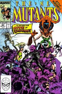 New Mutants (1983 series) #84, VF+ (Stock photo)