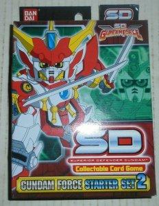SD Gundam Force CCG Starter Set 2