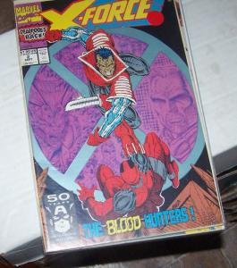 X-Force # 2  SEPT 1991, Marvel  CABLE+ 2ND APPERANCE DEADPOOL  1ST KANE
