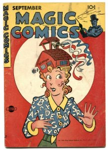 Magic Comics #86 1946- Popeye- Blondie cover VG