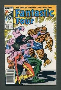 Fantastic Four #303  / 7.5 VFN- / Newsstand /  June 1987