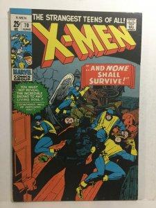 X-Men 70 Fn+ Fine+ 6.5 Marvel Comics