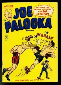 Joe Palooka #39 1949- Harvey Comics- Ham Fisher- Boxing- VG