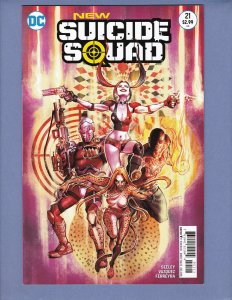 New Suicide Squad #21 VF/NM Harley Quinn DC 2016