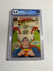 Superman 247 Cgc 9.8 Double Cover !!!!! Super Rare Dc Comics Bronze Age