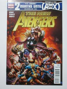 New Avengers (Marvel v2 2012) #21 Signed by Colorist Paul Mounts Thor Melee