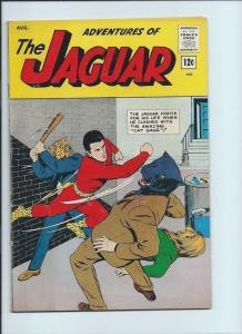 adventures of the jaguar 13 4.0 VG radio comics