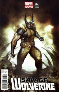 SAVAGE WOLVERINE (2013 Series) #3 VARIANT Near Mint Comics Book