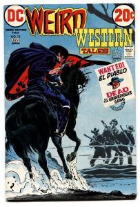 WEIRD WESTERN #15 1973 NEAL ADAMS El Diablo-Comic book-VG/FN