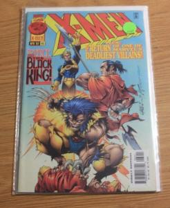 X MEN # 63 1997, Marvel  black king woverine CANNONBALL HELLFIRE CLUB