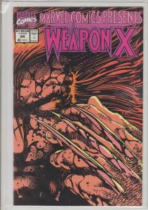 MARVEL COMICS PRESENTS #84 - WEAPON X - WOLVERINE - BAGGED & BOARDED