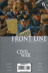 Civil War: Front Line #6 FN; Marvel | save on shipping - details inside