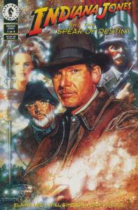 Indiana Jones and the Spear of Destiny #1 VF/NM; Dark Horse   save on shipping -