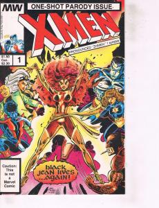 Lot Of 2 Comic Books Marvel X Men Parody #1 and X Factor #50  ON8