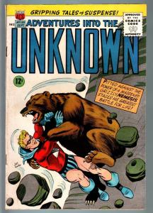 ADVENTURES INTO THE UNKNOWN #159-HORROR/SCI-FI-SILVER AGE-NEMEIS-FN FN