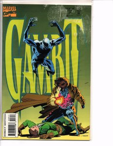 Marvel Comics Gambit (Vol. 1) #3 Lee Weeks Cover and Art (fading on front cover)