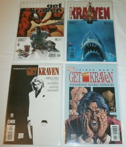 Spider-Man: Get Kraven (2002) #1-4 (set of 4) Jaws, Scarface, Home Alone