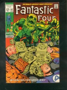 FANTASTIC FOUR #85 1969-HIGH GRADE VF