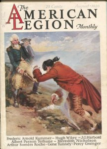 American Legion Monthly 8/1926- Gustaf Teggren-Pulp thrills by Albert Payson ...