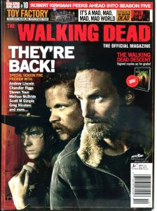 WALKING DEAD MAGAZINE #10, NM-, Zombies, Horror, Robert Kirkman, TWD, 2012