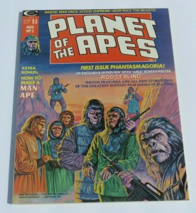 Planet of the Apes #1 NM 9.4 High Grade 1974 Magazine Rod Serling Pop Culture