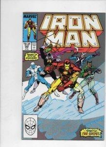 IRON MAN #240, NM- Tony Stark, Ghost, 1968 1989, more IM in store, Marvel