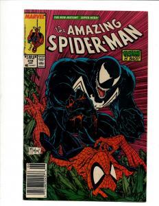 Amazing Spider-Man # 316 NM Marvel Comic Book Venom Todd McFarlane Classic C DS4