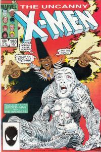X-Men #190 (Feb-85) NM- High-Grade X-Men