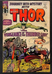 Journey Into Mystery #115 GD/VG 3.0 Marvel Comics Thor