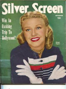 Silver Screen-Ginger Rogers-John Wayne-Lana Turner-Esther Williams-Sep-1950