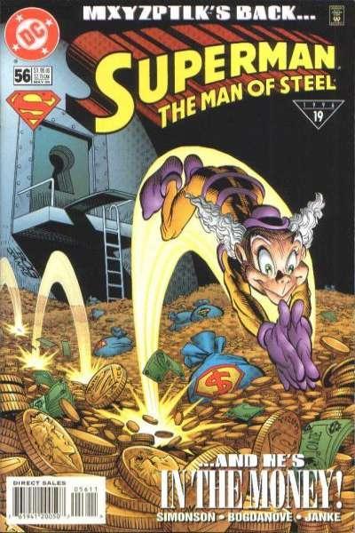 Superman: The Man of Steel #56, NM (Stock photo)