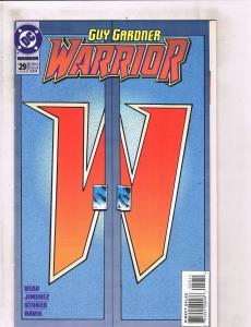 Lot of 7 Guy Gardner Warriors DC Comic Books #29 32 33 34 35 36 37 LH18