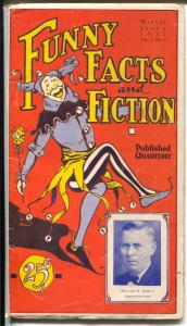 Funny Facts and Fiction #4 1931-Keller-Kayo Harris-Jack Stephens-VG+